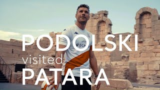 Lucas Podolski visited Patara | Go Turkey