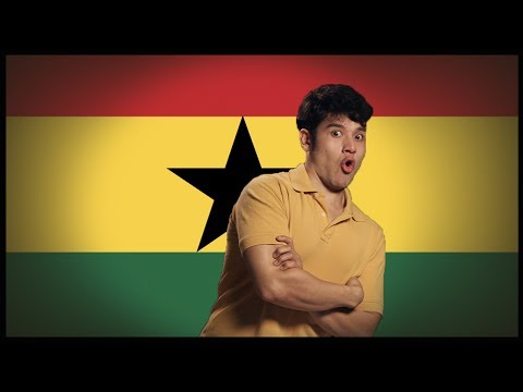 Flag Friday! Ghana Geography Now!