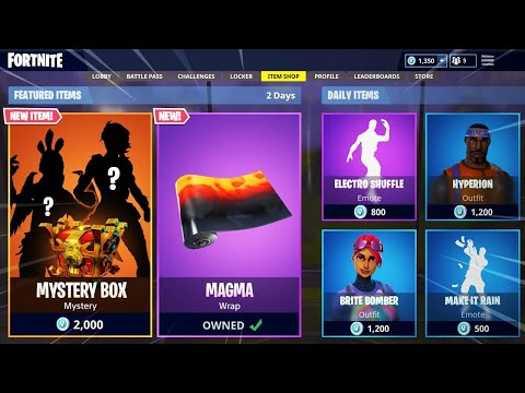The NEW MYSTERY Item Shop in Fortnite! (NEW Item Shop Countdown)