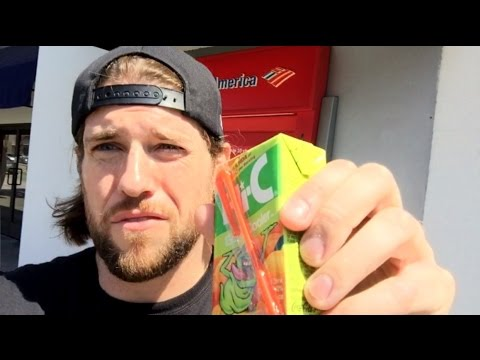 L.A. Beast VLOG #8 (Depositing A $400 Hi-C Ecto Cooler Juice Box Into A Bank Vault)