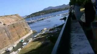 Город Керкира Корфу Греция обзор жилые кварталы(, 2012-11-29T21:35:17.000Z)