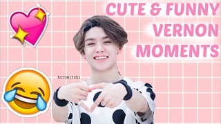 SEVENTEEN Vernon Cute & Funny Moments