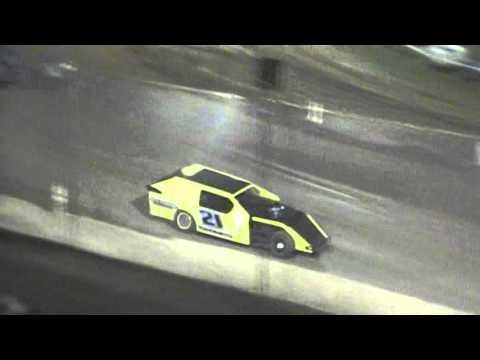 Crowley's Ridge Raceway 4/23/16 #21 Chris Sims Modified Feature Race