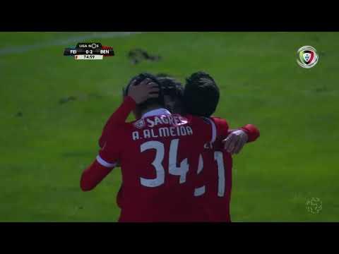 Golo de Rafa Silva: Feirense 0-(2) Benfica (Liga 27ªJ)
