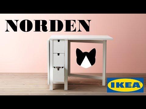Сборка стола Норден IKEA / Building The NORDEN From IKEA