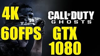 Call of Duty: Ghosts Gameplay - Max Settings PC Native 4K - 60FPS