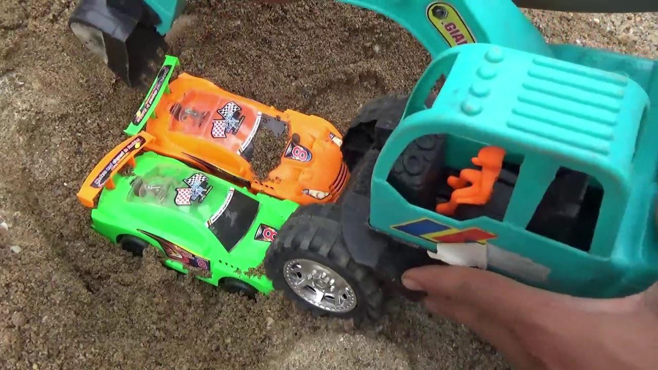 Excavator, Truck, Cars & Dump Trucks Construction Toy Vehicles for Kids, Xe Đồ Chơi Trẻ Em P22