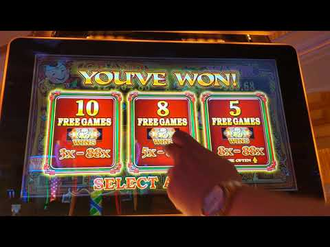 MAJOR JACKPOT on 88 Fortunes in Las Vegas!!