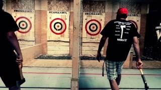 Axe Throwing Bonus trick shot