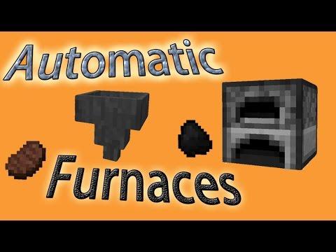 Minecraft Tutorial: Automatic Furnaces