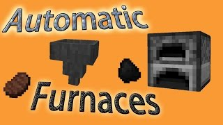 minecraft tutorial automatic furnaces