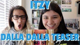 ITZY '달라달라(DALLA DALLA)' MV TEASER REACTION!!!