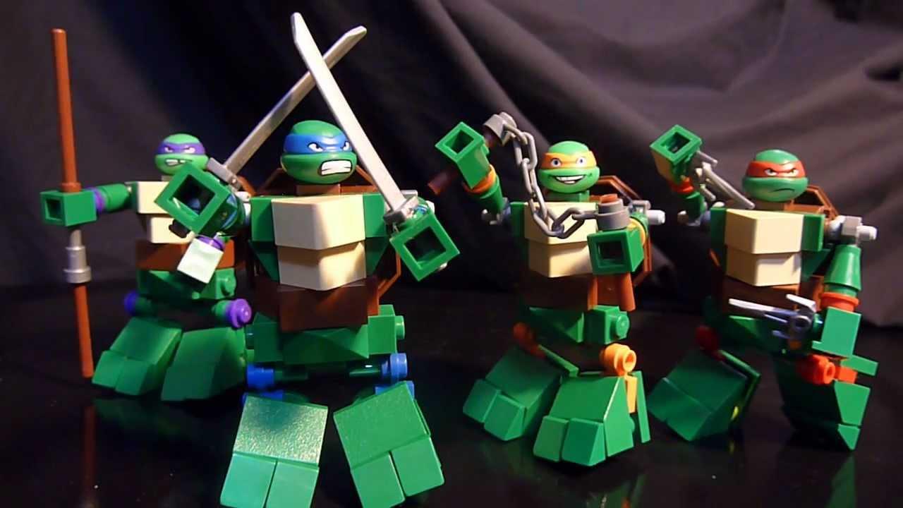 teenage mutant ninja turtles a lego superhero creation