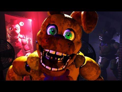 FREDBEAR AND SPRING BONNIE ATTACK | Final Nights 4 (FREE ROAM Five Nights at Freddys)
