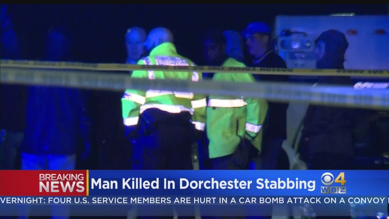 Man Killed In Dorchester Stabbing