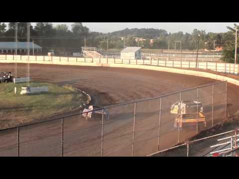 Cory Mahder - July 19th, 2013 - 2nd Place - Heat - Red Cedar Speedway