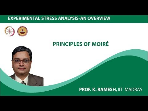 Unit - 3, Lesson -1 - Principles of  Moiré