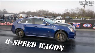 DECEIVING 6-Speed CTS-V WAGON Pushes For 9s! 900HP On Nitrous