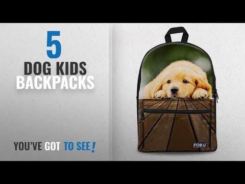 Top 10 Dog Kids Backpacks [2018 Best Sellers]: Dreaweet Cute Animal Teens Junior Back to School Kids