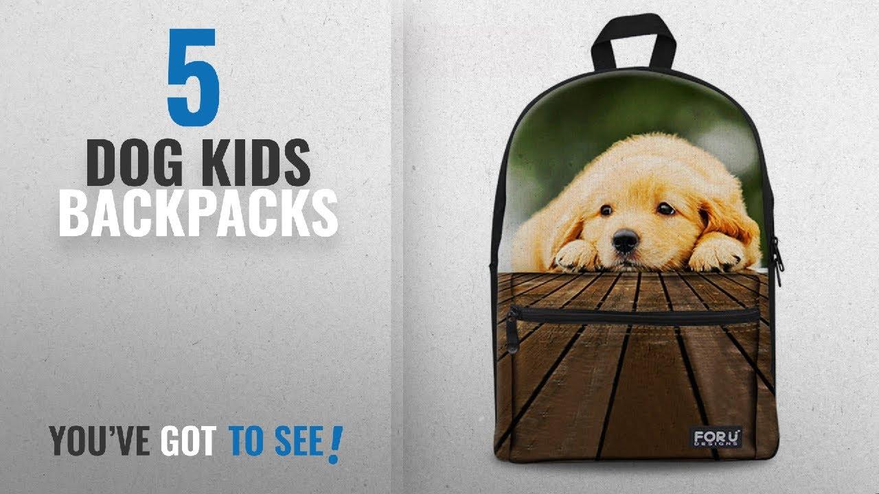 Top 10 Dog Kids Backpacks  2018 Best Sellers   Dreaweet Cute Animal Teens  Junior Back to School Kids c2d9745f42c49