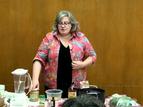 """Patricia Allen-Koot """"Easy Vegan Cooking"""" Demo"""