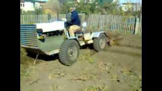 Самодельный трактор 3 корпуса