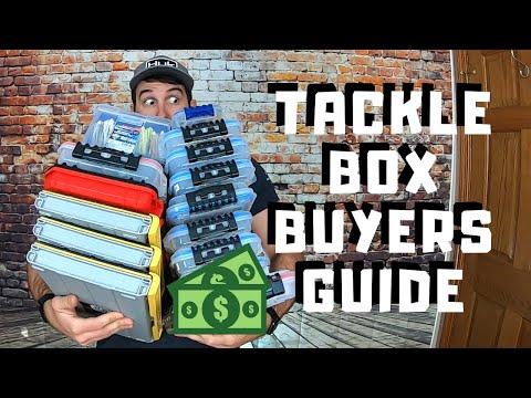 Tackle Box Buyers Guide (Plano Edge, Gruv Fishing And More!)
