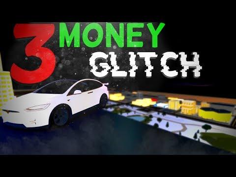 Roblox Vehicle Simulator Money glitch (3 Money glitch) (Easy) (Any Car)