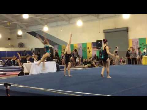 Mardi Gras Invitational 2017 | Xcel Silver Gymnastics Meet 3 | SuperDisney55