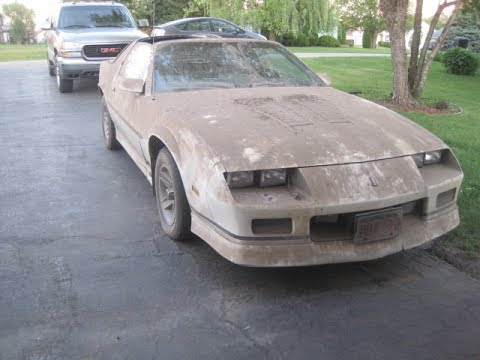 First Wash in 17 Years!!! Project IROC-Z Part 2