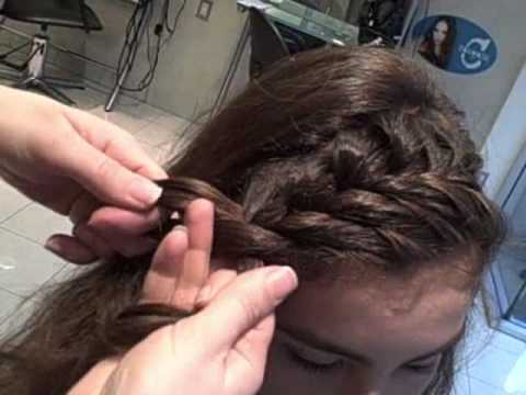 Toni and Guy Vancouver - How To French Braid