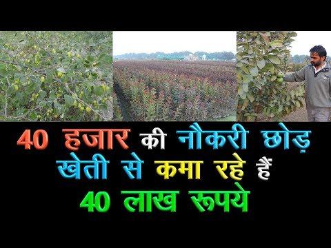 Progressive farmer earning 40 lakh with Natural Farming || Organic Farming|| Technical Farming||