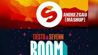 Tiesto & Sevenn - BOOM VS. Alok & Bhaskar - FUEGO (AndrezGao Mashup)