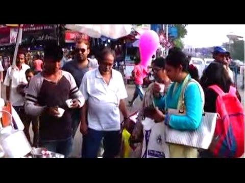 Street Foods Of India   Special 'Amul Mithai Mate' Tea, Coffee Etc. Of Esplanade, Kolkata, WB, India