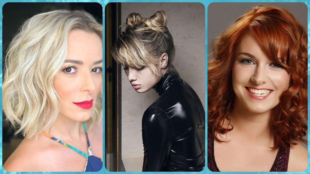 Las mejores variaciones de peinados para pelo fino y escaso Galería De Consejos De Color De Pelo - 20 modelos 💖 de peinados para pelo fino y escaso - YouTube