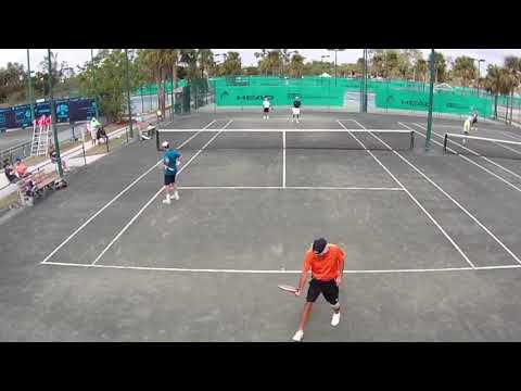 Men's 70 Doubles Final, Cat II at Academia Sanchez-Casal