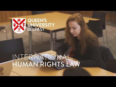 LLM Human Rights Law