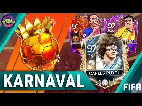 CARNIBALL PACK OPENING! TIPS & ADVICE! 97 PRIME PUYOL! FIFA MOBILE 18
