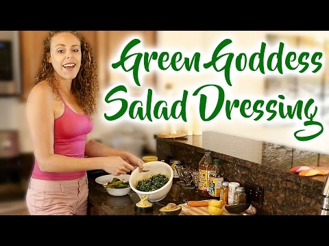 Simple & Healthy Salad Dressing Recipe, Creamy Vegan Dressing for a Flat Belly! Protein, Liver