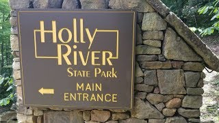 Day-tripping Holly River State Park in West Virginia