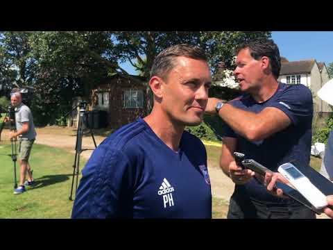 Ipswich Town boss Paul Hurst on Town players back in pre-season