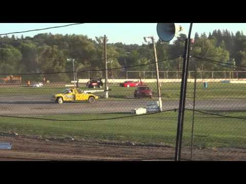 Pro Stock hotlaps Fonda Speedway