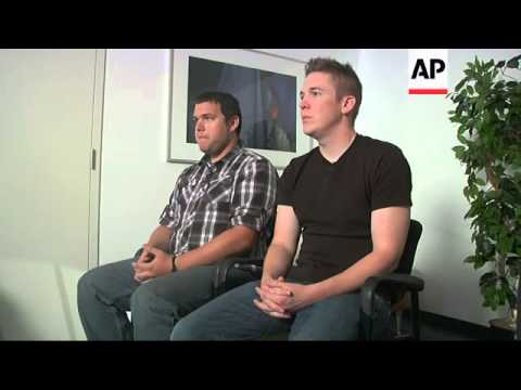 Two members of Sgt. Bowe Bergdahl's unit in Afghanistan spoke to AP about the recent prisoner exchan