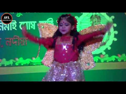 Projapoti Ei Mon Meluk Pakhna dance|by amrita halder