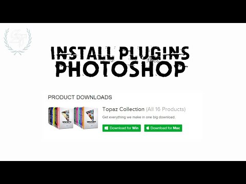 Install Plugins Into Photoshop