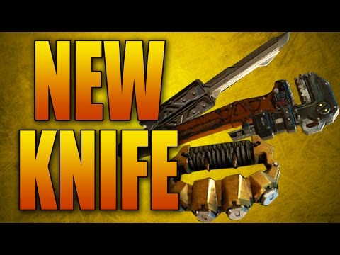 NEW MELEE WEAPONS! Butterfly Knife, Wrench, and Brass Knuckles (Black Ops 3 DLC)