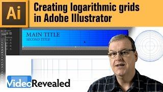 Creating logarithmic grids in Adobe Illustrator