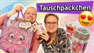TAUSCHPAKET für die beste Freundin BFF | Überraschung DM, Primark, 1€ Laden |Sonntagschallenge #197