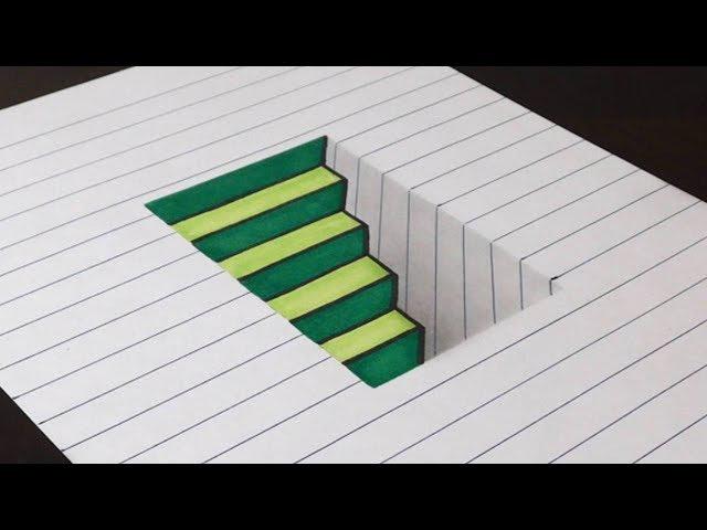 Contoh Gambar 3 Dimensi Sederhana Yang Mudah Di Gambar Pemula Dizeen