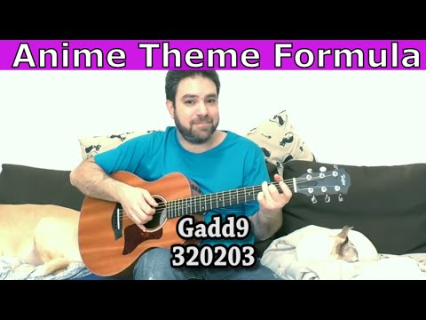 Lesson: The Anime Theme Formula (incl. 16 Beautiful Chord Voicings) - Guitar Tutorial w/ TAB